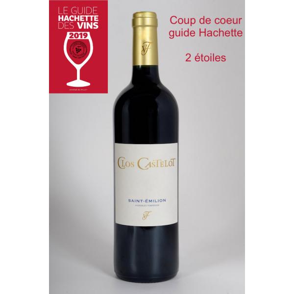 Clos Castelot 2015 (Bouteille 0,75L)